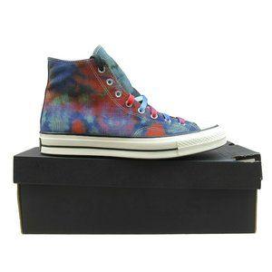Converse Chuck 70 HI Top Tie Dye Plaid Size 11